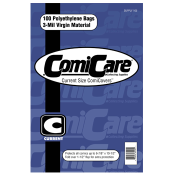 Comicare Comic Bags PP : Current Size (100)