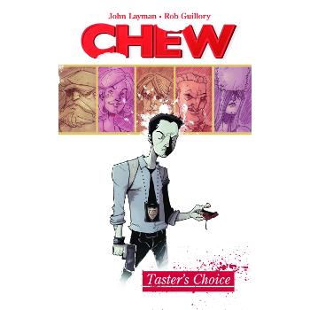 Chew Vol. 01 : Taster's Choice TP