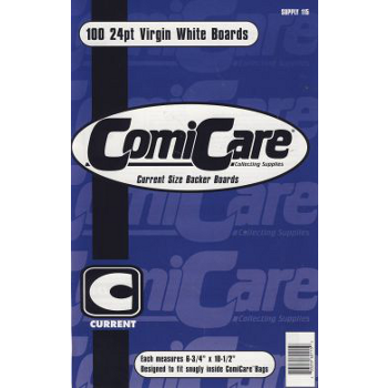 Comicare Comic Boards : Current Size (100)