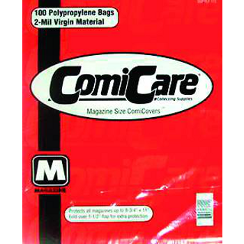 Comicare Comic Bags PP : Magazine Size (100)