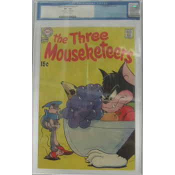 Three Mouseketeers 1 CGC 7.5