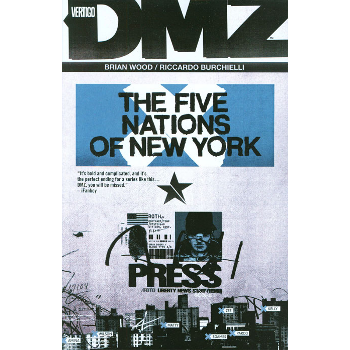 DMZ Vol. 12 : Five Nations of New York TP