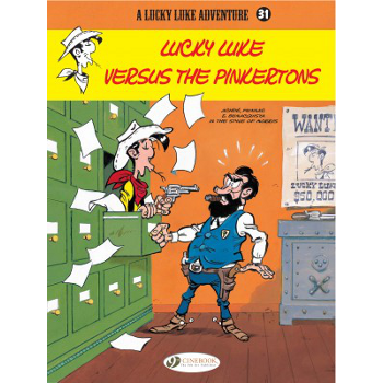 Lucky Luke Adventures Vol. 31 : Lucky Luke Versus The Pinkertons