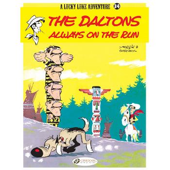 Lucky Luke Vol. 34 : The Daltons Always on the Run (O)SC