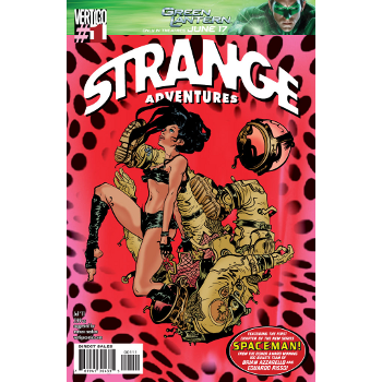 Strange Adventures 1 Signed Edition