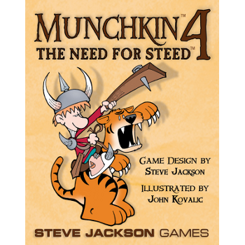 Munchkin 4 - The Need for Steed Expansion Card Game