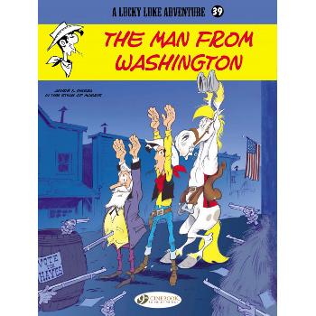 Lucky Luke Adventure Vol. 39 The Man from Washington (O) SC