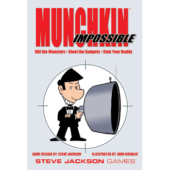 Munchkin Impossible Card Game