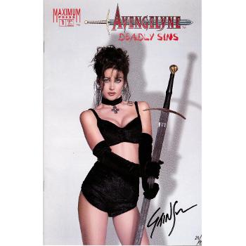 Avengelyne Deadly Sins 1-Signed