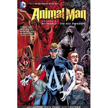 Animal Man Vol. 3 : Rotworld The Red Kingdom TP (N52)