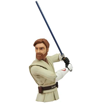 Star Wars Clone Wars : Obi-Wan bust bank