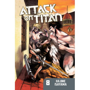 Attack on Titan Vol. 08 SC