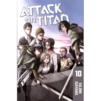 Attack on Titan Vol. 10 SC