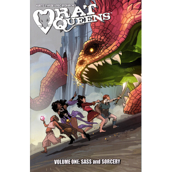 Rat Queens Vol. 1 : Sass and Sorcery TP