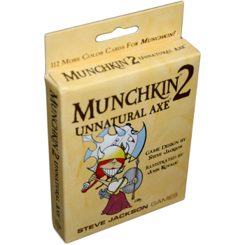 Munchkin 2 - Unnatural Axe Expansion Card Game
