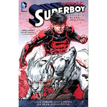 Superboy Vol. 4 : Blood and Steel TP (N52)