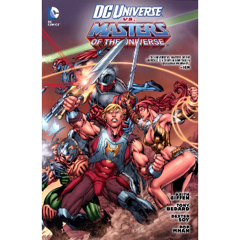 DC Universe vs Masters of the Universe TP