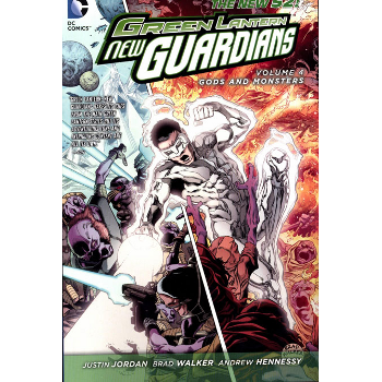 Green Lantern New Guardians Vol. 4 : Gods and Monsters TP (N52)