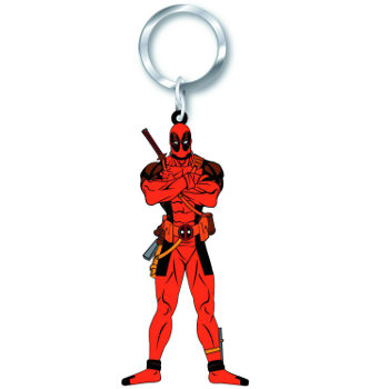 Keyring : Deadpool (soft touch PVC)
