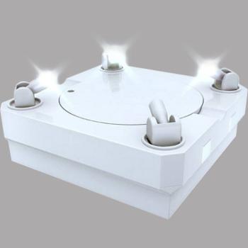 Masterlight Revolving Figurine Stage (white)