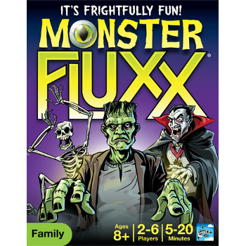 Fluxx : Monster Fluxx Card Game
