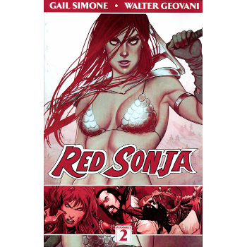 Red Sonja Vol. 2 : Art of Blood and Fire TP
