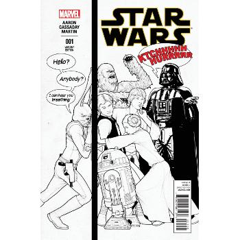 Star Wars #1 Party Retailer Sketch Variant