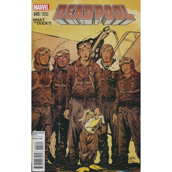 Deadpool #45 ( aka #250 ) What the Duck Variant
