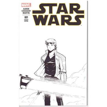 Star Wars #1 - Andre Human Original Art Cover