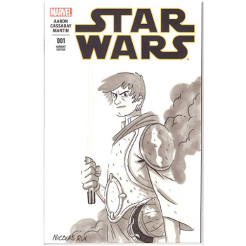 Star Wars #1 - Nicolas Rix Original Art Cover