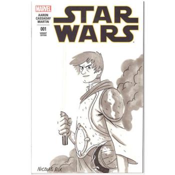 Star Wars #1 - Nicolas Rix Original Art Cover