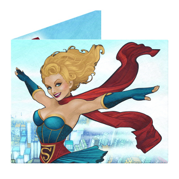DC Bombshells Supergirl Mighty Wallet