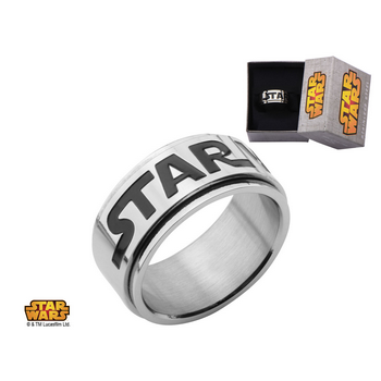 Star Wars Logo Spinner Ring (size 8)