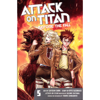 Attack on Titan : Before the Fall Vol. 5 SC
