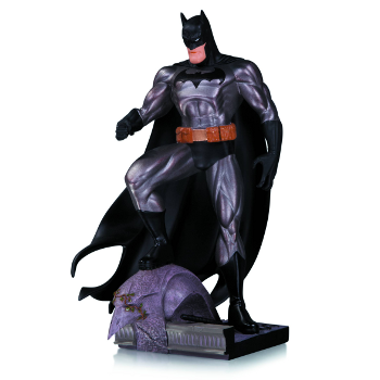 Batman Metallic Jim Lee Mini Statue