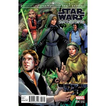 Star Wars : Shattered Empire #4 Pichelli Variant