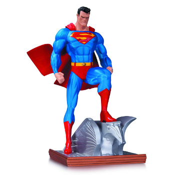 Superman Metallic Jim Lee Mini Statue