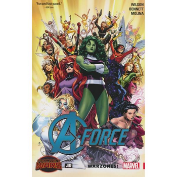 A-Force Vol. 0 : Warzones TP