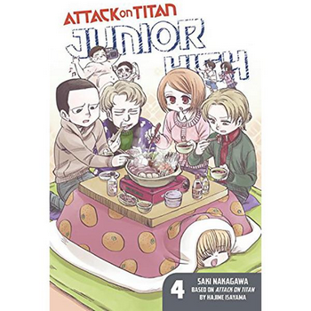 Attack on Titan : Junior High Vol. 4 SC