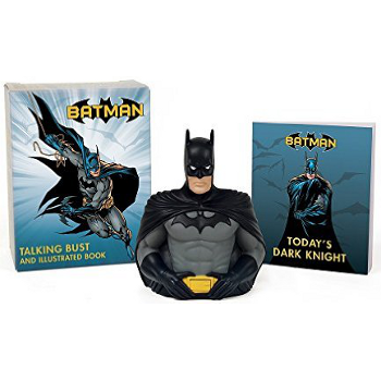 Batman Talking Bust & Book set