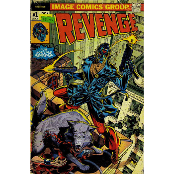 FC16 Revenge #1 ( 2nd print ) -Signed