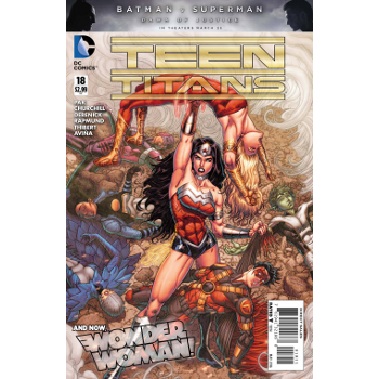 FC16 Teen Titans #18 -Signed