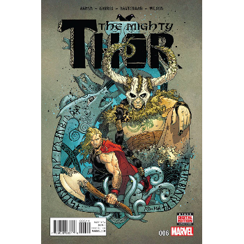 FC16 The Mighty Thor #6 -Signed