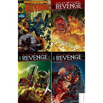 FC16 Revenge #1-#4 Complete Signed