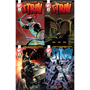 FC16 Stray #1-#4 Complete Signed