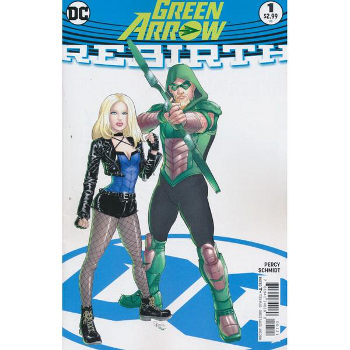 Green Arrow Rebirth #1 Variant