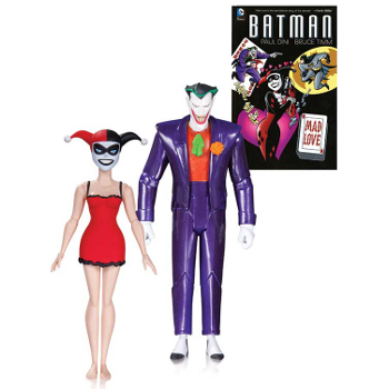 Batman Animated Mad Love Joker & Harley 2 Pack AF
