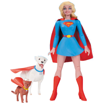 DC DS Darwyn Cooke : Supergirl Action Figure