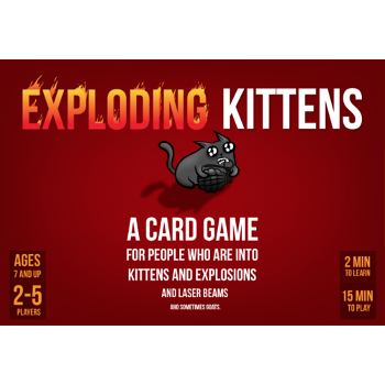 Exploding Kittens Red Box