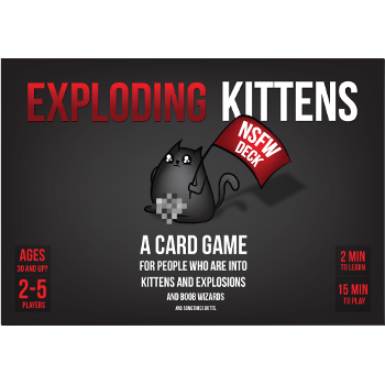 Exploding Kittens Black Box (NSFW)
